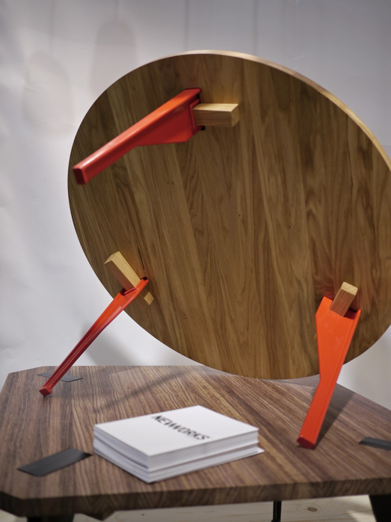 Keel table launched at Stockholm Furniture Fair in 2013 where my first pre-production prototypes were shown.