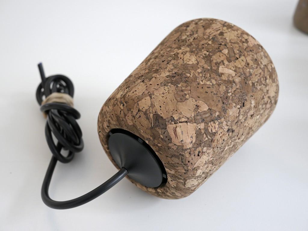 Mixed cork shade prototype 2013.