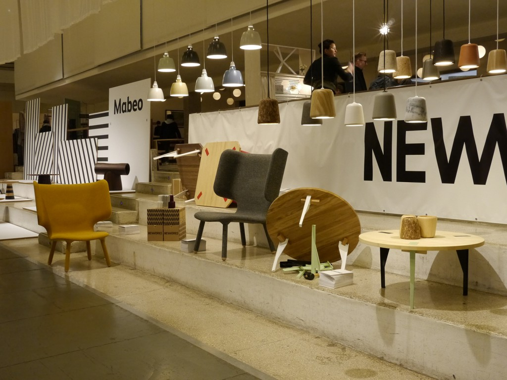 The Nevvvorks / New Works stand at the 2013 Design Junction in Milan