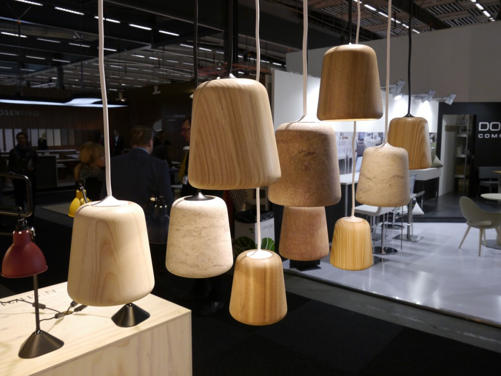 Material Pendant by Kechayas and Noergaard for Nevvvorks, here including some prototype materials we were testing for market response.