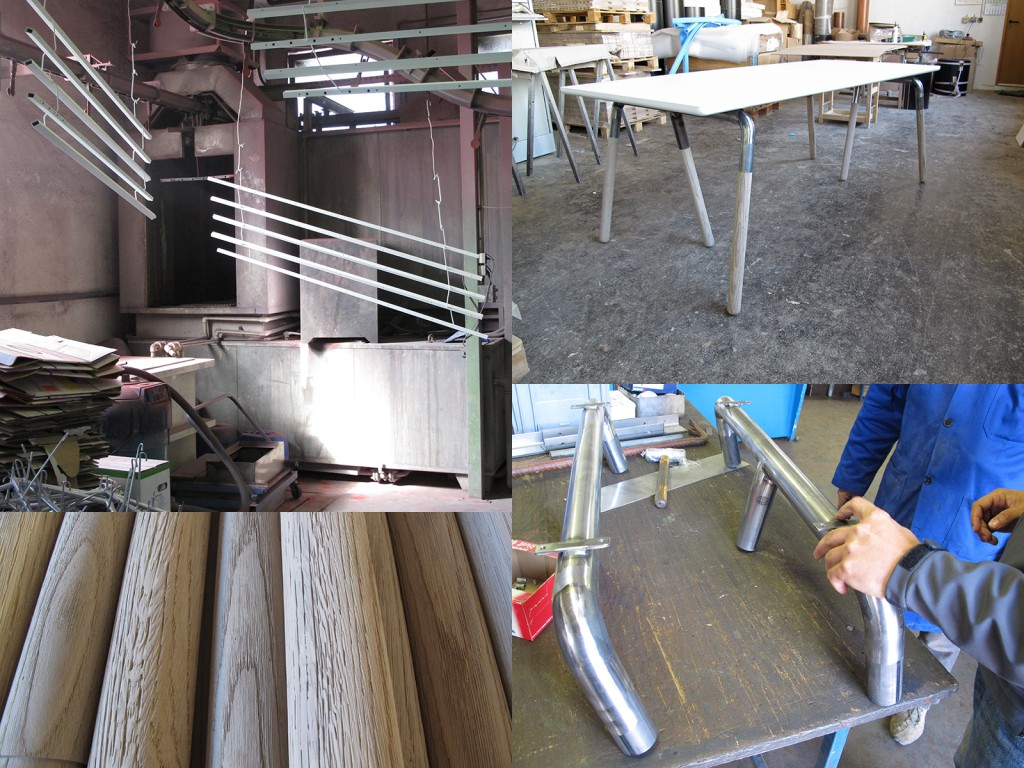 Raft Table production visit highlights from November 2011.