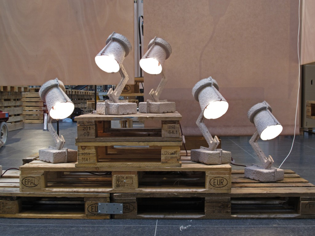'Trash Me' table lamps designed by Victor Vetterlein for &Tradition